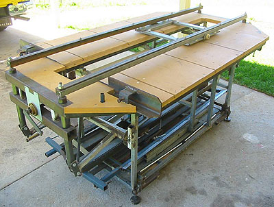 Sliding Tablesaw Homemade : Homemade Sliding Table Saw Plans Project PDF Download – Woodworkers ...
